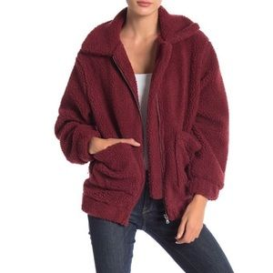 Elodie Faux Shearling Teddy Jacket